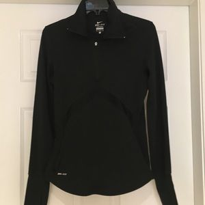 Nike Long-sleeve Dry Fit Half-zip Shirt